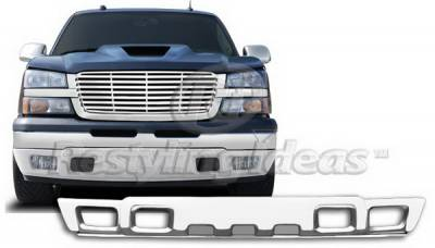 Avalanche - Front Bumper - Restyling Ideas - Chevrolet Avalanche Restyling Ideas Bumper Pad - 72-PCB-SIL03LF