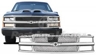 Grilles - Custom Fit Grilles - Restyling Ideas - Chevrolet CK Truck Restyling Ideas Grille - 72-PC-C1094ME