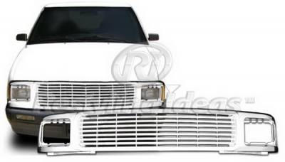 Grilles - Custom Fit Grilles - Restyling Ideas - Chevrolet S10 Restyling Ideas Grille - 72-PC-S1094BL