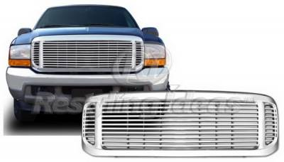 Grilles - Custom Fit Grilles - Restyling Ideas - Ford Excursion Restyling Ideas Grille - 72-PF-F2599BL