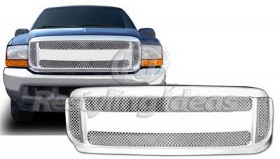 Grilles - Custom Fit Grilles - Restyling Ideas - Ford Excursion Restyling Ideas Grille - 72-PF-F2599GB