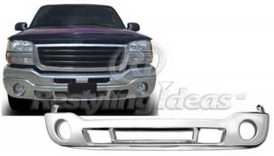 Sierra - Front Bumper - Restyling Ideas - GMC Sierra Restyling Ideas Bumper Pad - 72-PGB-SIE03LF