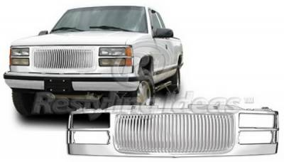 Grilles - Custom Fit Grilles - Restyling Ideas - Chevrolet CK Truck Restyling Ideas Grille - 72-PG-CK94VB
