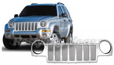 Grilles - Custom Fit Grilles - Restyling Ideas - Jeep Liberty Restyling Ideas Performance Grille - 72-PJ-LIB02ME