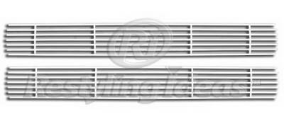 Grilles - Custom Fit Grilles - Restyling Ideas - GMC CK Truck Restyling Ideas Upper Grille -Stainless Steel Chrome Plated Billet - 72-SB-CHC1088-T