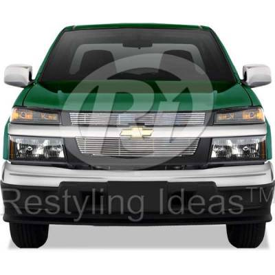 Grilles - Custom Fit Grilles - Restyling Ideas - Chevrolet Colorado Restyling Ideas Billet Grille - 72-SB-CHCOL04-T-NC
