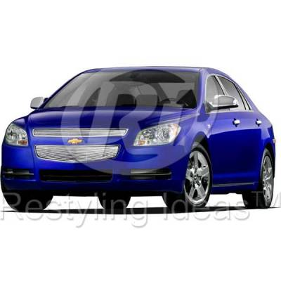 Grilles - Custom Fit Grilles - Restyling Ideas - Chevrolet Malibu Restyling Ideas Billet Grille - 72-SB-CHMAL08-T