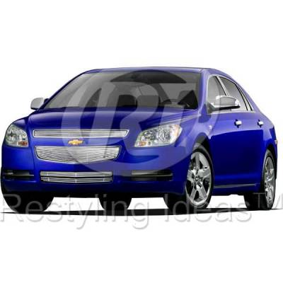 Grilles - Custom Fit Grilles - Restyling Ideas - Chevrolet Malibu Restyling Ideas Billet Grille - 72-SB-CHMAL08-TB