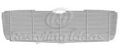 Grilles - Custom Fit Grilles - Restyling Ideas - Chrysler Aspen Restyling Ideas Upper Grille -Stainless Steel Chrome Plated Billet - 72-SB-CRASP06-T