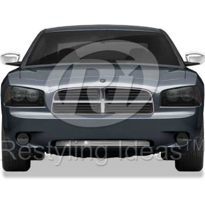 Grilles - Custom Fit Grilles - Restyling Ideas - Dodge Charger Restyling Ideas Billet Grille - 72-SB-DOCHA06-B