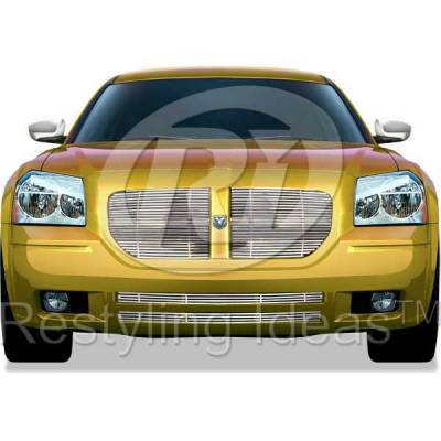 Grilles - Custom Fit Grilles - Restyling Ideas - Dodge Magnum Restyling Ideas Grille Insert - 72-SB-DOMAG05-T/B