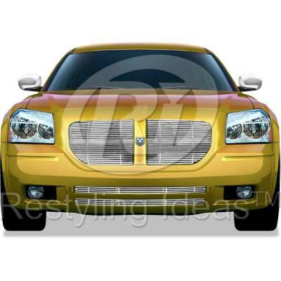 Grilles - Custom Fit Grilles - Restyling Ideas - Dodge Magnum Restyling Ideas Billet Grille - 72-SB-DOMAG05-TB-NC
