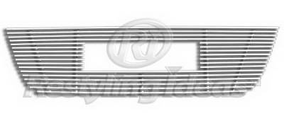 Grilles - Custom Fit Grilles - Restyling Ideas - GMC Acadia Restyling Ideas Upper Grille -Stainless Steel Chrome Plated Billet - 72-SB-GMACA07-T