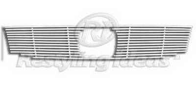 Grilles - Custom Fit Grilles - Restyling Ideas - Honda Accord 2DR Restyling Ideas Upper Grille -Stainless Steel Chrome Plated Billet - 72-SB-HOACC084-T