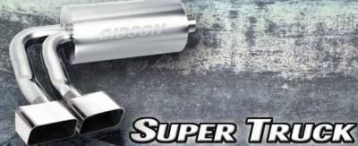 Exhaust - Custom Fit Exhaust - Gibson Exhaust - Gibson Exhaust Super Truck Exhaust System