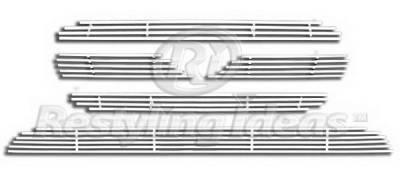 Grilles - Custom Fit Grilles - Restyling Ideas - Hyundai Santa Fe Restyling Ideas Grille Insert - 72-SB-HYSAN07-TB