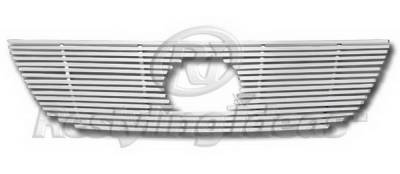 Grilles - Custom Fit Grilles - Restyling Ideas - Lexus ES Restyling Ideas Upper Grille -Stainless Steel Chrome Plated Billet - 72-SB-LEES307-T
