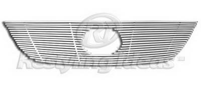 Grilles - Custom Fit Grilles - Restyling Ideas - Lexus RX Restyling Ideas Upper Grille -Stainless Steel Chrome Plated Billet - 72-SB-LERX406-T