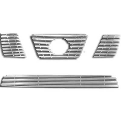 Grilles - Custom Fit Grilles - Restyling Ideas - Nissan Pathfinder Restyling Ideas Billet Grille - 72-SB-NIPAT05-TB