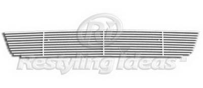 Grilles - Custom Fit Grilles - Restyling Ideas - Nissan Pathfinder Restyling Ideas Lower Grille - Stainless Steel Chrome Plated Billet - 72-SB-NIPAT08-B