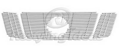Grilles - Custom Fit Grilles - Restyling Ideas - Nissan Frontier Restyling Ideas Grille Insert - 72-SB-NIPAT08-T