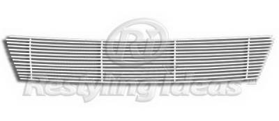 Grilles - Custom Fit Grilles - Restyling Ideas - Nissan Versa Restyling Ideas Lower Grille - Stainless Steel Chrome Plated Billet - 72-SB-NIVER07-B