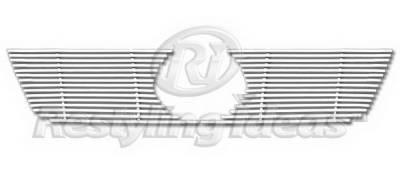 Grilles - Custom Fit Grilles - Restyling Ideas - Volkswagen Golf GTI Restyling Ideas Grille Insert - 72-SB-VWGTI06-T