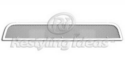 Grilles - Custom Fit Grilles - Restyling Ideas - Nissan Frontier Restyling Ideas Bumper Insert Grille - 72-SM703-NIPAT08B
