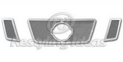 Grilles - Custom Fit Grilles - Restyling Ideas - Nissan Frontier Restyling Ideas Grille Insert - 72-SM703-NIPAT08T