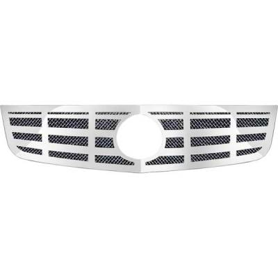 Grilles - Custom Fit Grilles - Restyling Ideas - Cadillac DTS Restyling Ideas Knitted Mesh Grille - 72-SM-CADTS06-T