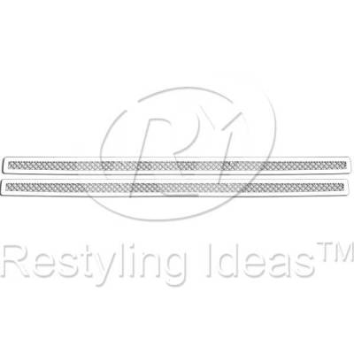 Grilles - Custom Fit Grilles - Restyling Ideas - Dodge Magnum Restyling Ideas Knitted Mesh Grille - 72-SM-DOMAG05-B