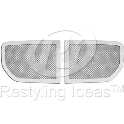 Grilles - Custom Fit Grilles - Restyling Ideas - Dodge Magnum Restyling Ideas Knitted Mesh Grille - 72-SM-DOMAG05-T