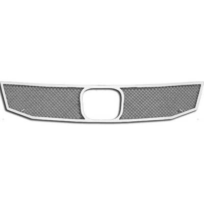 Grilles - Custom Fit Grilles - Restyling Ideas - Honda Accord 4DR Restyling Ideas Knitted Mesh Grille - 72-SM-HOAC408-T