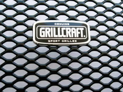 Grilles - Custom Fit Grilles - Grillcraft - BMW 3 Series 2DR Grillcraft MX Series Upper Grille - BMW-3020-B