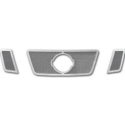Grilles - Custom Fit Grilles - Restyling Ideas - Nissan Pathfinder Restyling Ideas Knitted Mesh Grille - 72-SM-NIPAT08-T