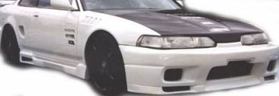 Integra 4Dr - Side Skirts - Sense - Acura Integra Sense Sensei Style Side Skirts - 9332SSS