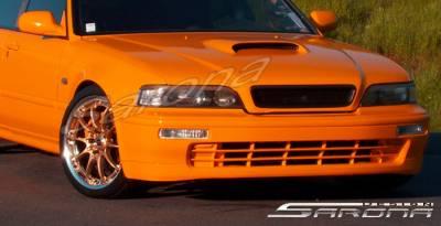 Body Kits - Hood Scoops - Sarona - Acura Legend Sarona Hood Scoop - AC-001-HS