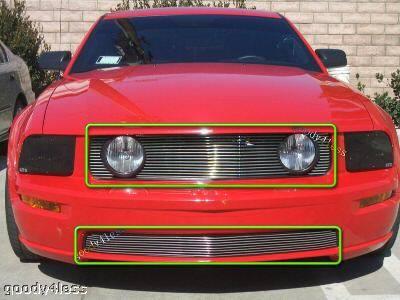 Goody - Mustang GT V8 Billet Grille Combo