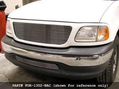 Grilles - Custom Fit Grilles - Grillcraft - Ford Expedition BG Series Black Billet Upper Grille - FOR-1300-BAC