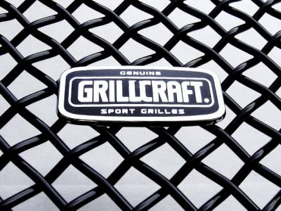Grilles - Custom Fit Grilles - Grillcraft - Ford Superduty MX Series Black Upper Insert Grille - 6PC - FOR-1356-B