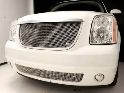 Grilles - Custom Fit Grilles - Grillcraft - GMC Denali SW Series Black Upper Grille - GMC-2021-SW