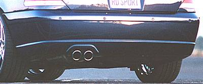 7 Series - Rear Lip - RD Sport - Tornado Rear Apron