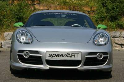 Cayman - Front Bumper - SpeedArt - SRS Front Lip Spoiler Attachment