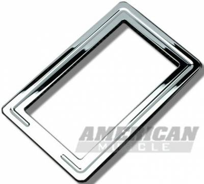 Car Interior - Interior Accessories - Silverhorse Racing - Ford Mustang Silverhorse Racing Chrome Shifter Bezel