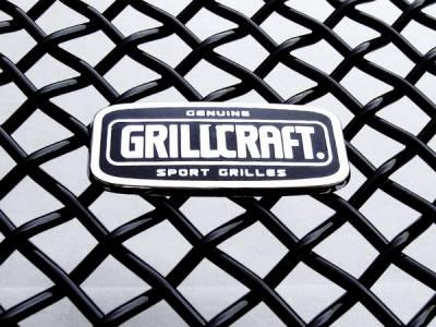 Grilles - Custom Fit Grilles - Grillcraft - Honda Civic 2DR MX Series Black Upper Grille - HON-1153-B