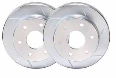 Brakes - Brake Rotors - PowerStop - Power Stop Slotted Rotor - Front Left & Right - EBR620SLR