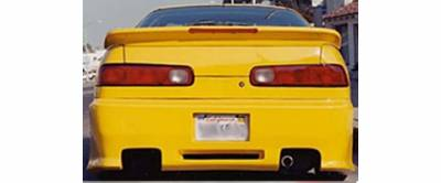 Sense - Acura Integra Sense Black Widow Style Rear Bumper - BW-13R