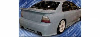 Sense - Honda Accord Sense Black Widow Style Rear Bumper - BW-42R