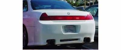 Sense - Honda Accord Sense Black Widow Rear Bumper - BW-45R
