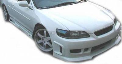 Accord Wagon - Side Skirts - Sense - Honda Accord Sense Black Widow Style Side Skirts - BW-45S